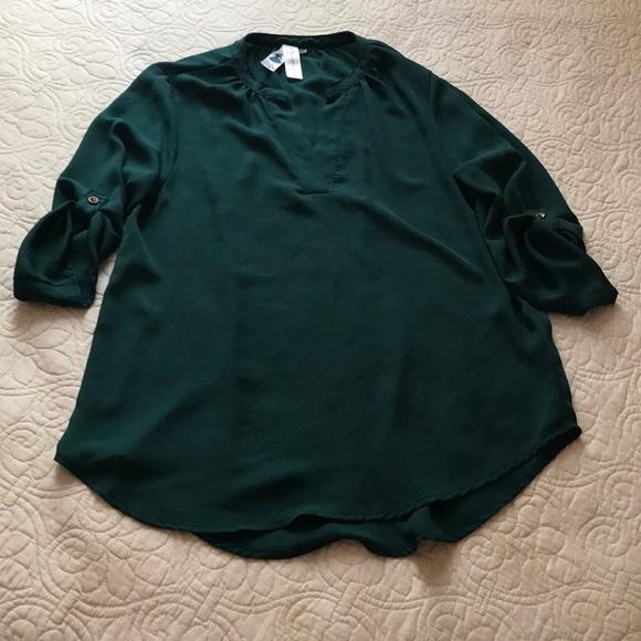 Dark Green Silk Shirt 1f7ffd164